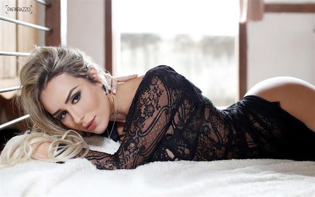 Fotos de Leticia Santiago nua e pelada na Paparazzo