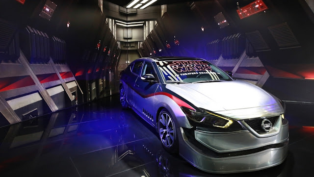 Nissan presenta su stand temático inspirado en Star Wars en el Auto Show de Los Ángeles 2017