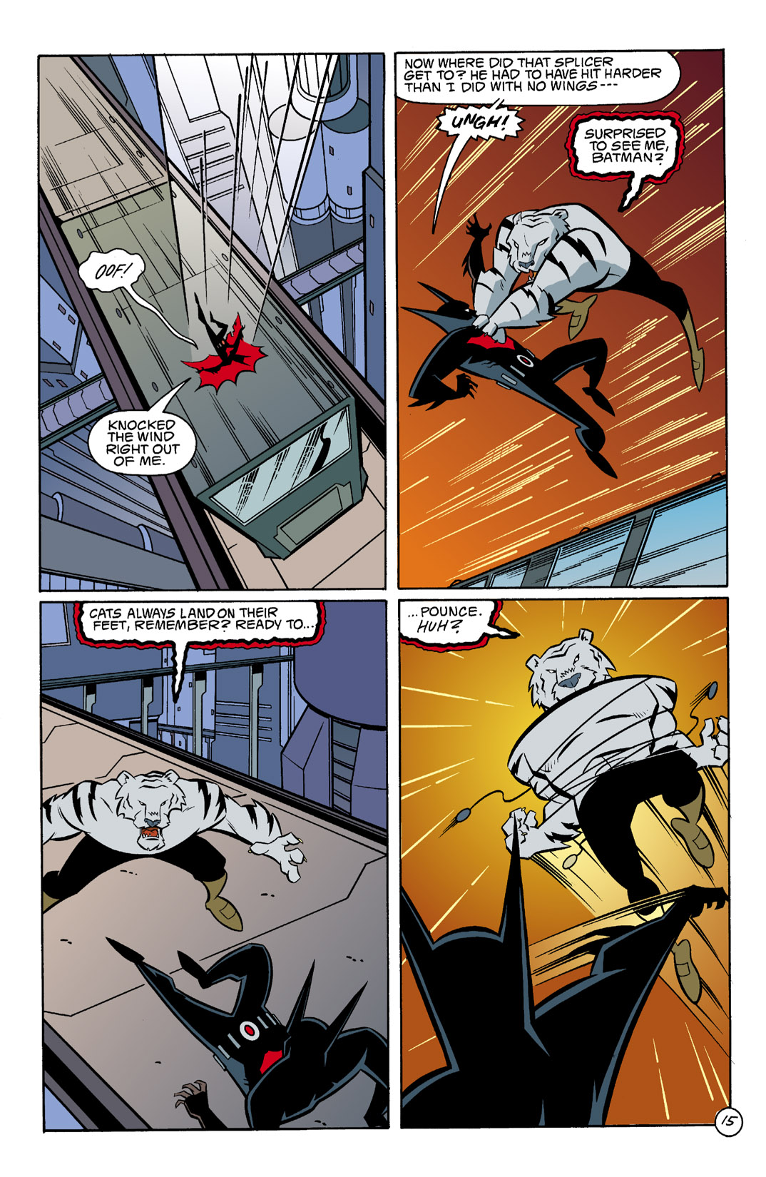 Batman Beyond [II] Issue #3 #3 - English 16