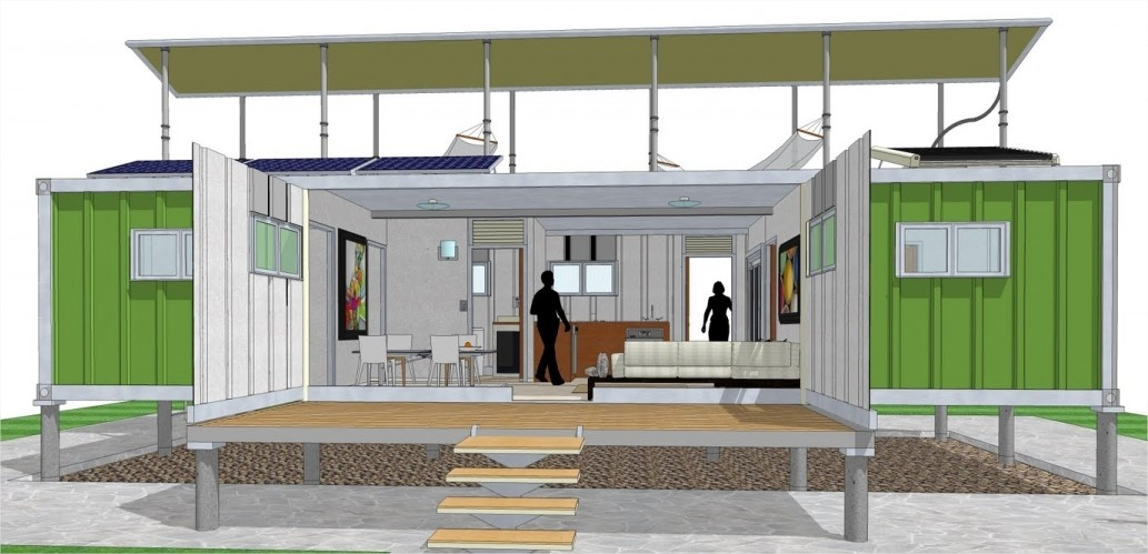 Cargo shipping container home design 20 ideas for your home container home - Cheap shipping container homes ...