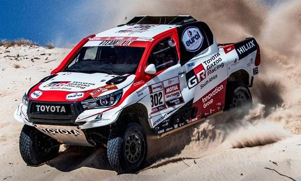 Fernando Alonso Toyota Hilux V8 4x4 Dakar