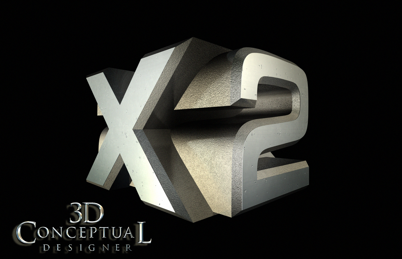Project Re...X 3d Logo Design