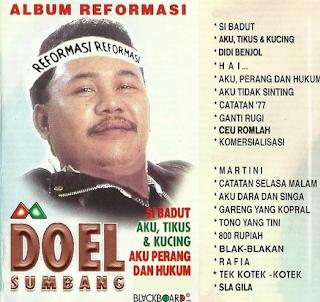 Mp3 Doel Sumbang – Album Reformasi Full Rar