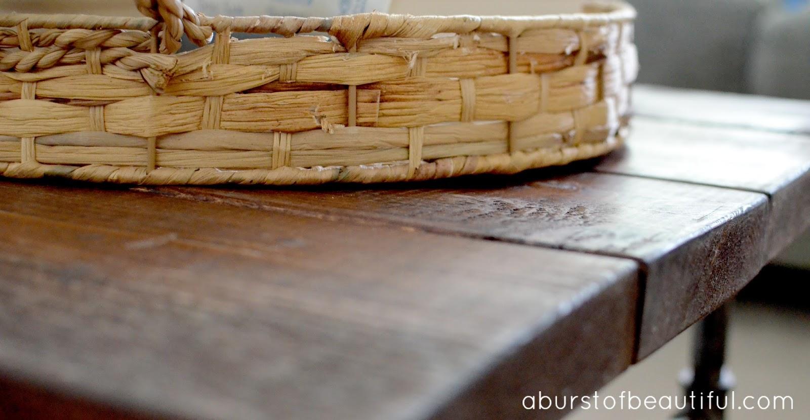 Diy Rustic Pipe Coffee Table