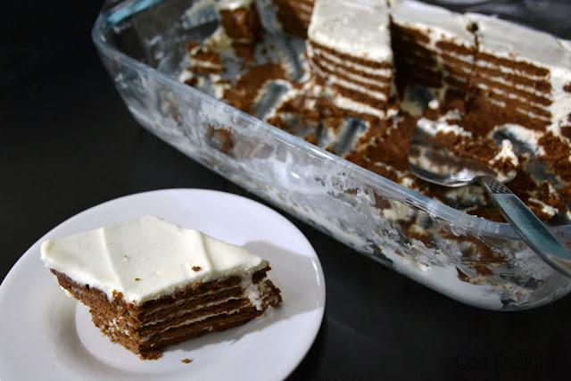 עוגת ביסקויטים מושלמת perfect petit beurre cake