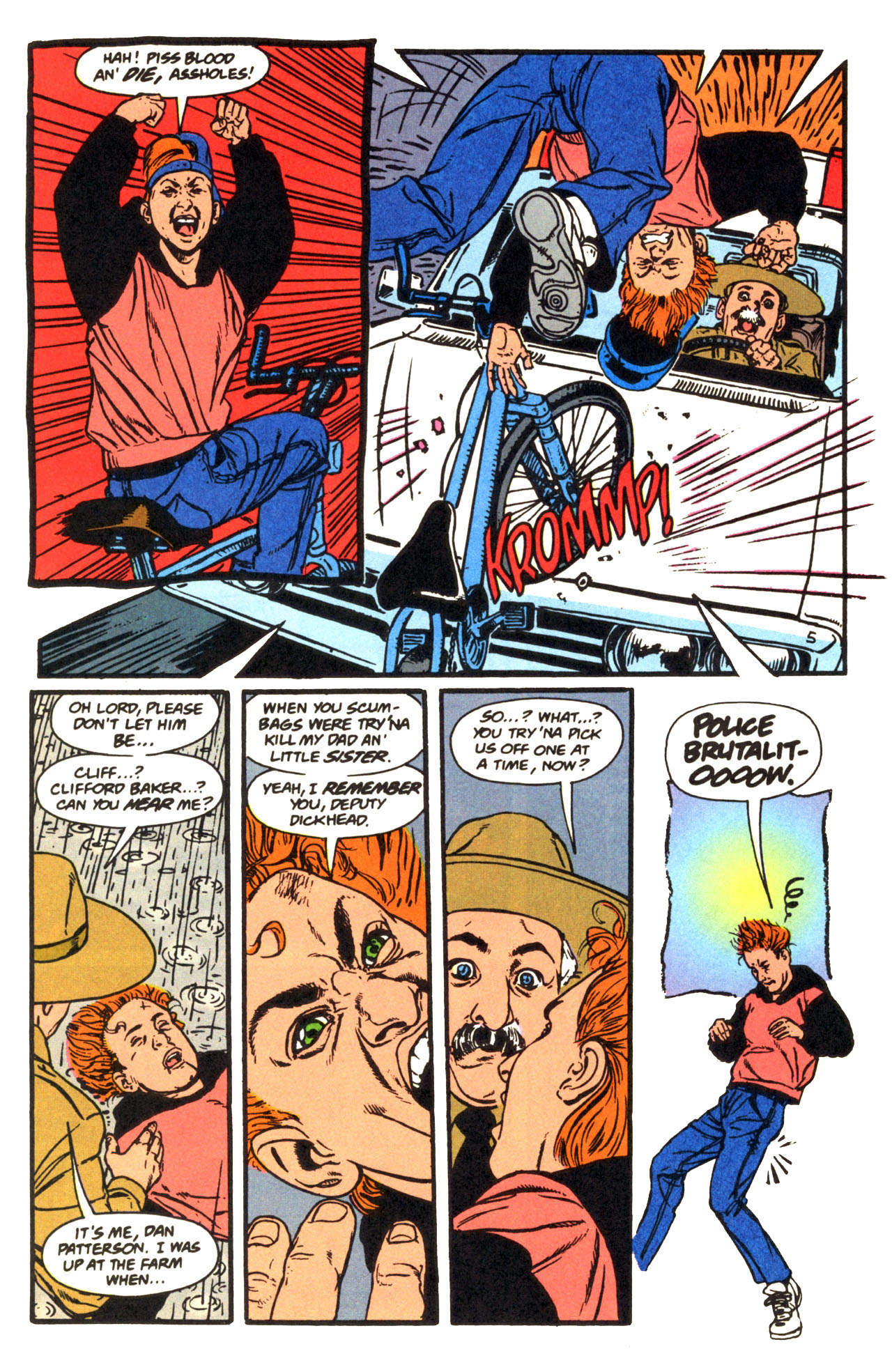 Read online Animal Man (1988) comic -  Issue #67 - 17