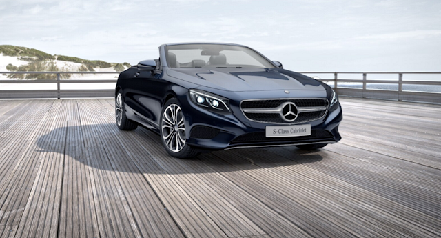 Mercedes S500 Cabriolet 2016