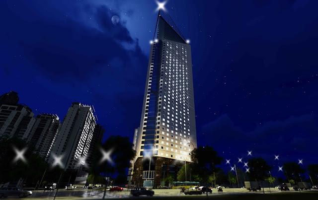 Chung cư tháp doanh nhân