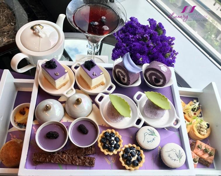 okura prestige bangkok lavender afternoon tea