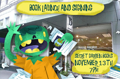 Book Signing and Launch Party at Secret Garden Books
