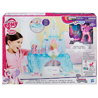My Little Pony Crystal Empire Castle Packaging