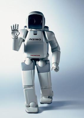 Imagen del Robot Asimo