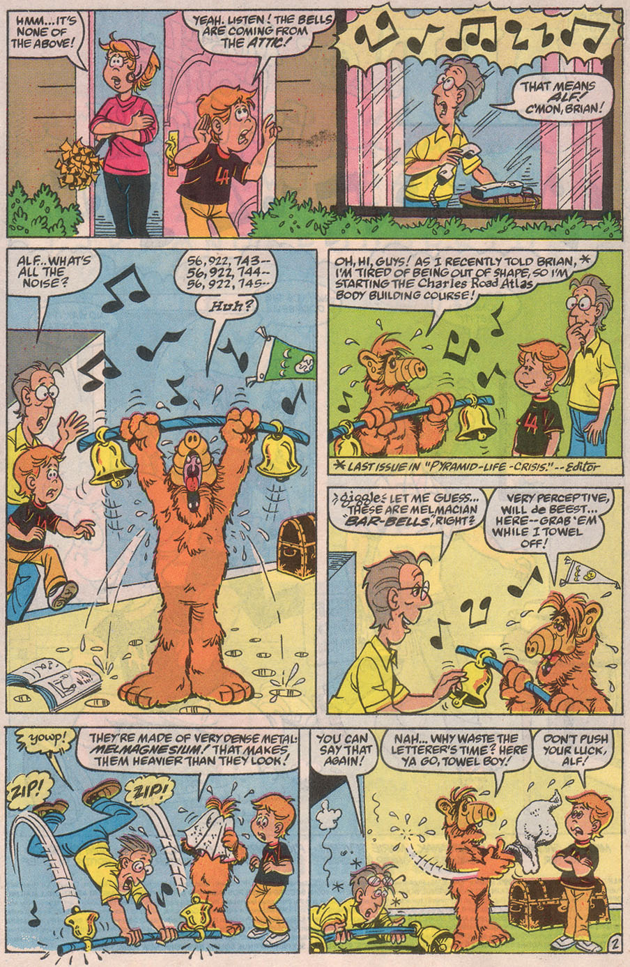 Read online ALF comic -  Issue #32 - 4