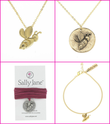 sally jane collage of products