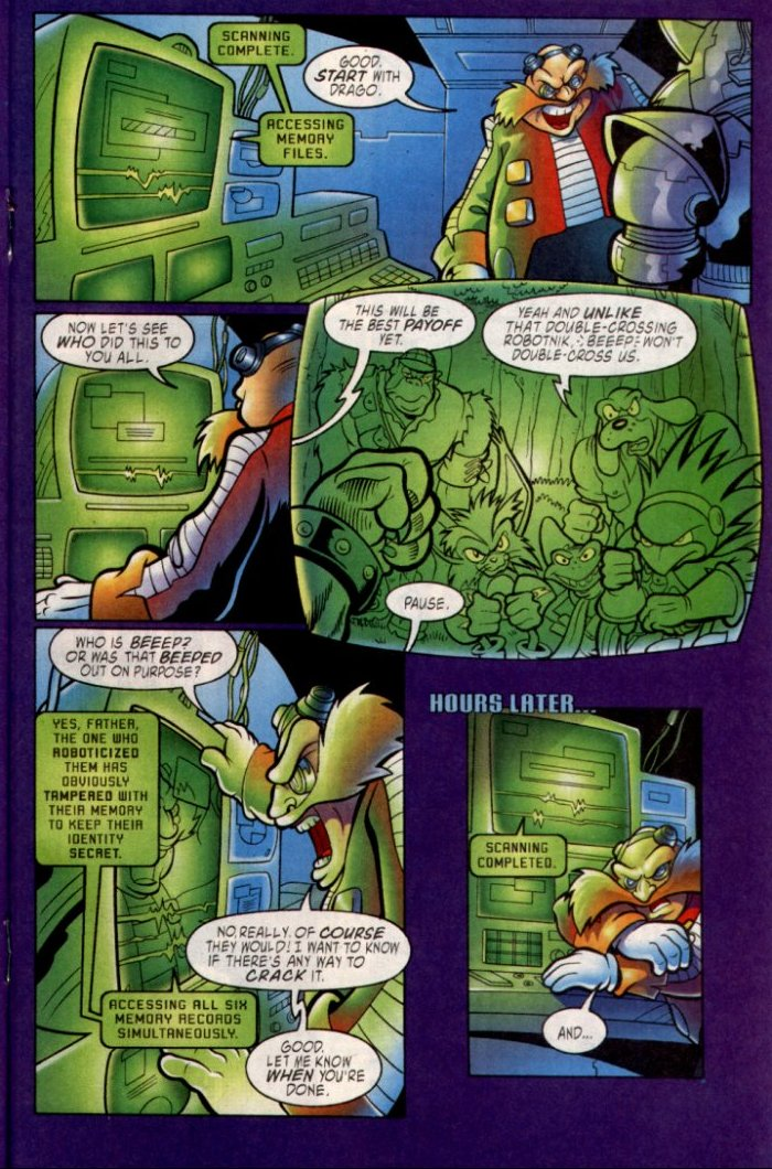 Read online Sonic The Hedgehog comic -  Issue #135 - 15