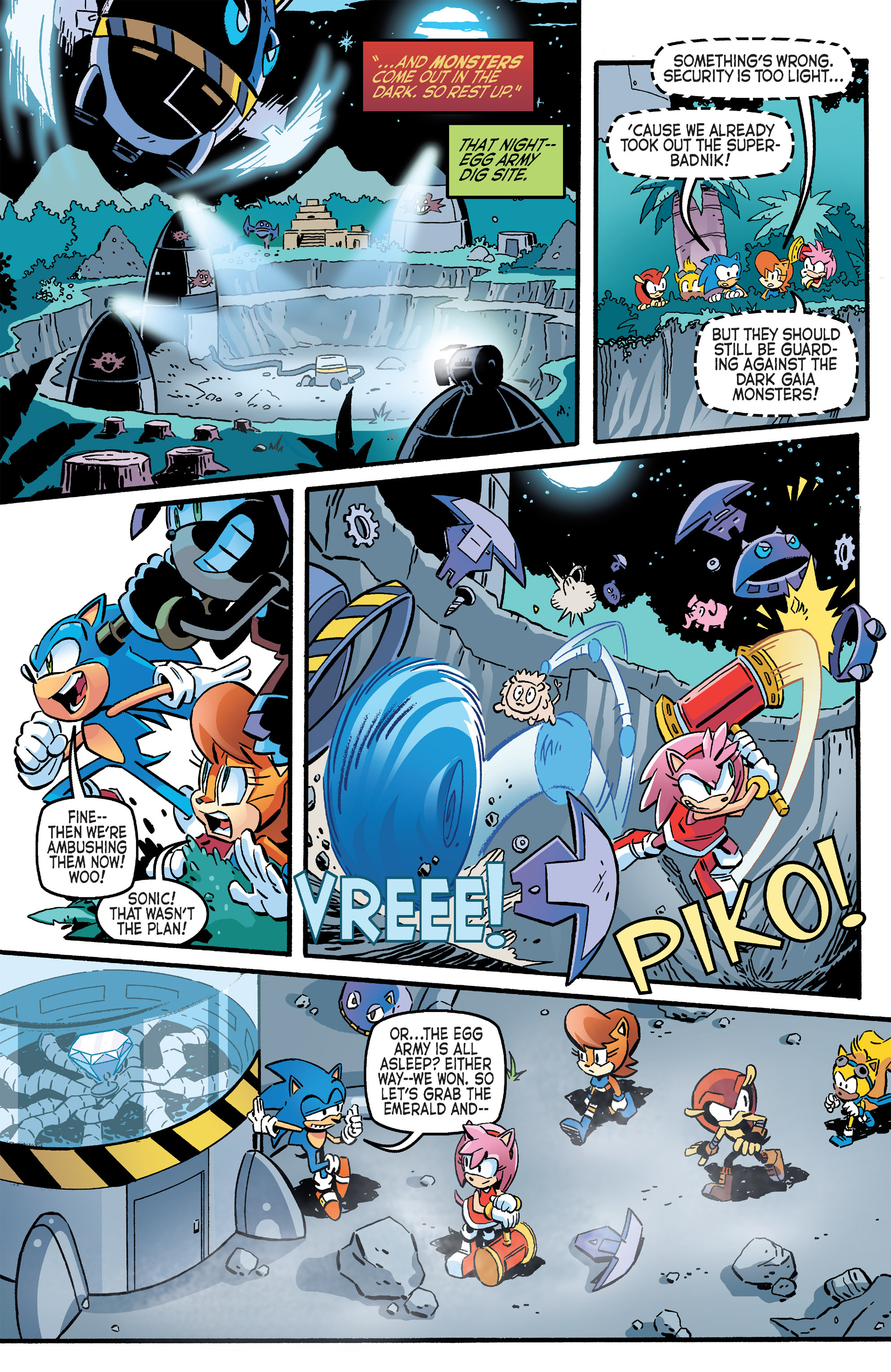 Read online Sonic The Hedgehog comic -  Issue #264 - 13