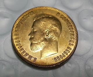 Moneda de Oro Rusa