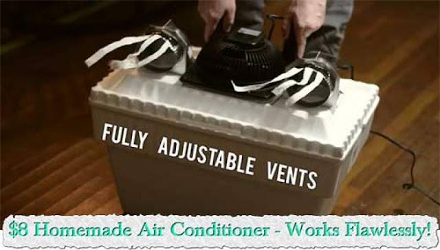 Το καλοκαίρι ήρθε: Δες πως θα φτιάξεις το δικό σου φυσικό air condition! (βίντεο)