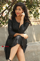 Telugu Actress Pavani Latest Pos in Black Short Dress at Smile Pictures Production No 1 Movie Opening  0042.JPG