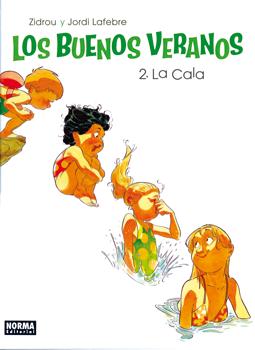 Los buenos veranos de Zidrou y Jordi Lafebre, edita Norma