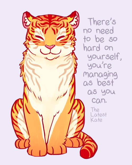 Motivational tiger