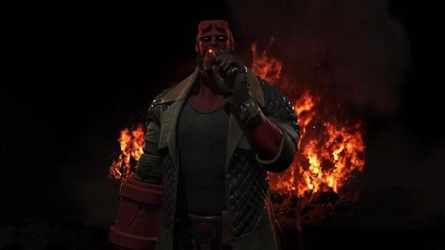 شخصية Hellboy أصبحت متوفرة الأن على لعبة Injustice 2