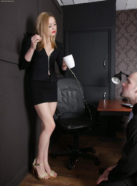 office femdom humilation