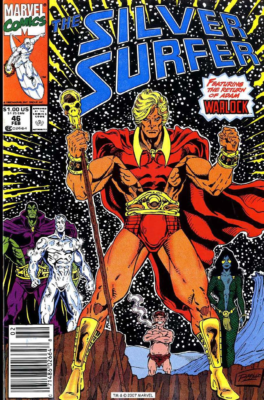 Read online Silver Surfer (1987) comic -  Issue #46 - 1