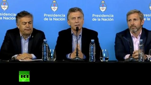 """Mauricio Macri: """"El acuerdo con el FMI nos va a dar tranquilidad"""""""