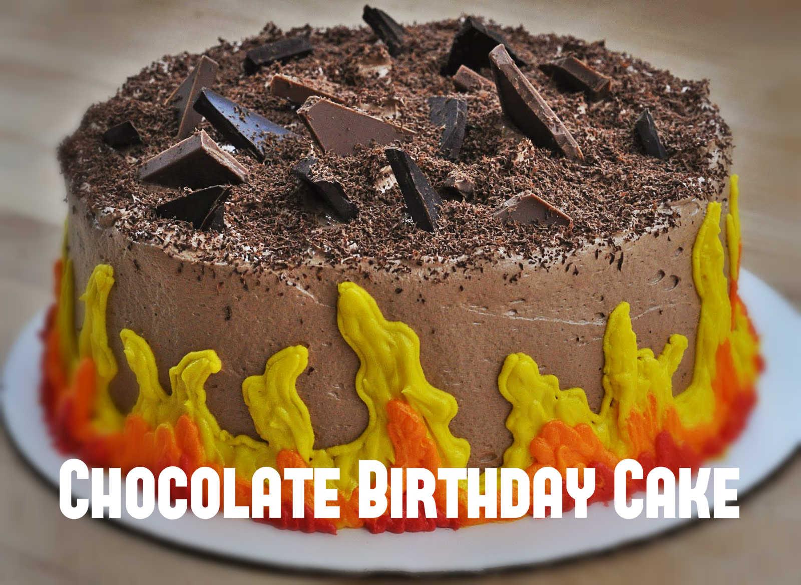 Divergent Dauntless Chocolate Birthday Cake Cakeyep