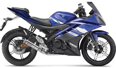 New 2017 Yamaha R15 V3 side look image
