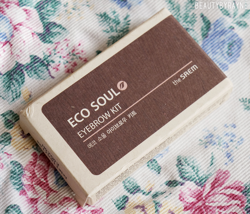 Review: The Saem Eco Soul Eyebrow Kit in #02 Grey Brown