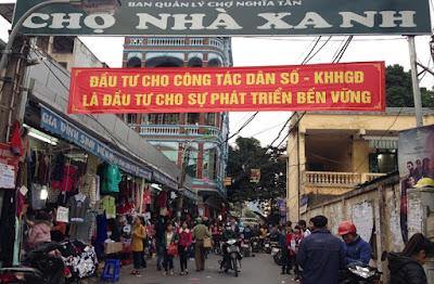 Chợ Nhà Xanh