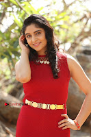 Telugu Actress Zahida Sam Latest Pos in Red Gown at RF Films New Movie Opening  0186.JPG