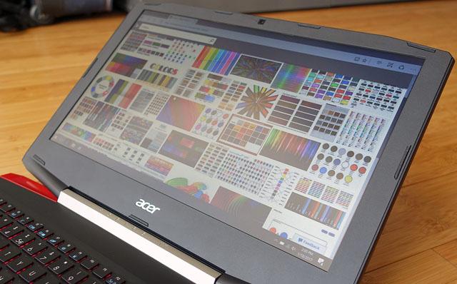 qualidade da tela notebook gamer acer vx5