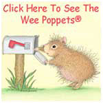 House-Mouse Designs® Wee Poppets®