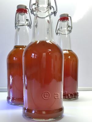 Pomegranate Flavored Kombucha