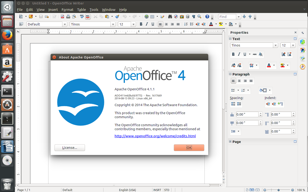 How to easily install openoffice 4 1 1 under ubuntu - Open office android tablette ...