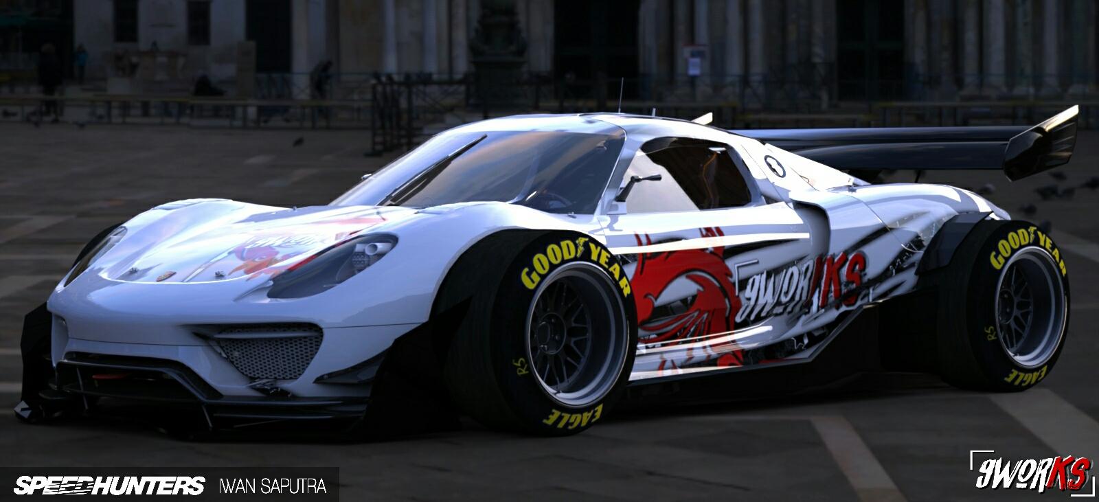 Porsche 918 Rsr F1 Edition Wancustom Yd Kit 9works Garage