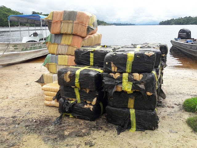 Exército apreende mais de 400 quilos de droga em São Gabriel da Cachoeira