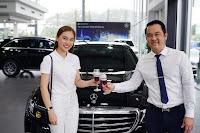 Nữ ca sĩ Giang Hồng Ngọc tậu xe sang Mercedes-Benz E200
