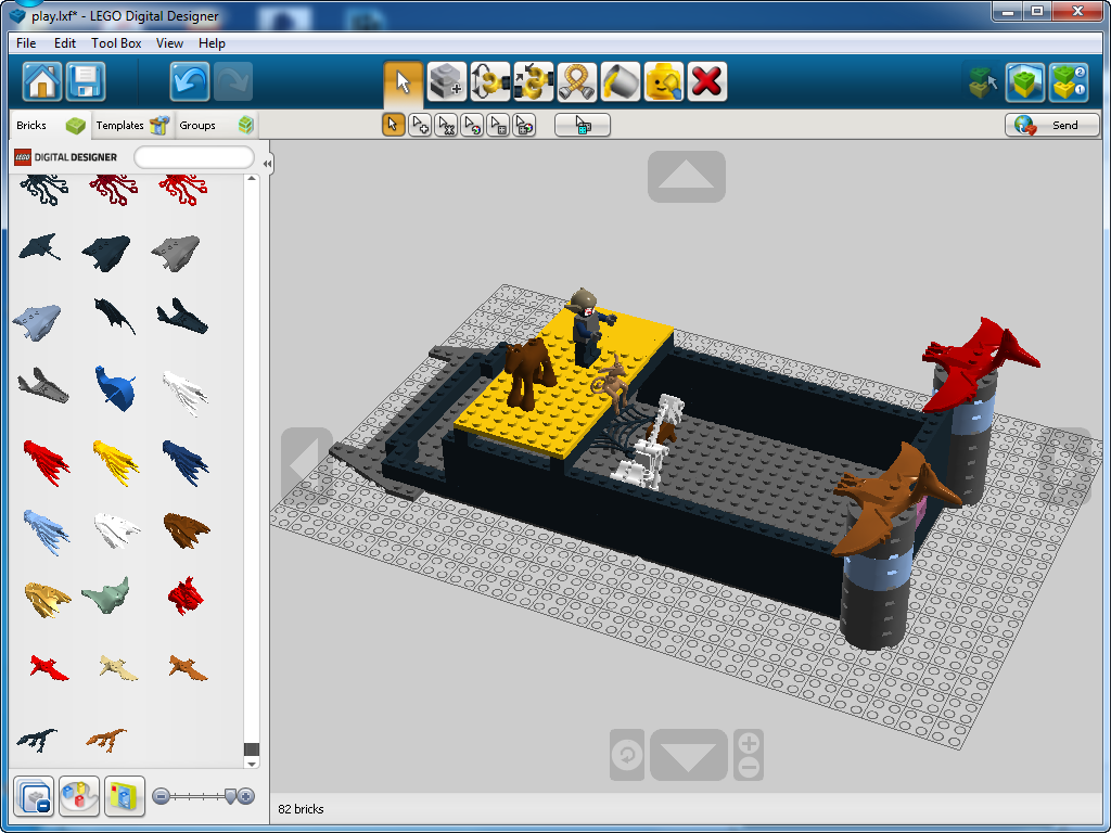 Lego designer templates gallery professional report for Lego digital designer templates