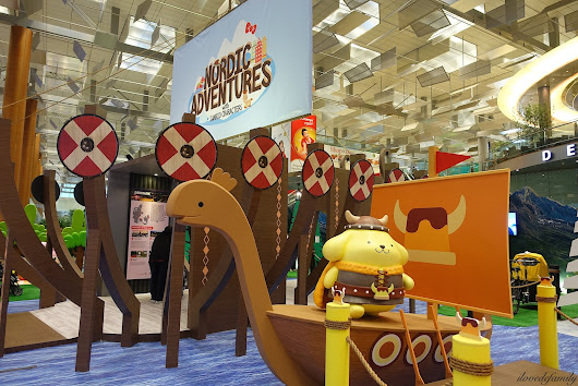 Nordic Adventures with Sanrio Characters at Changi Airport