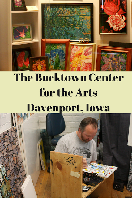 The Bucktown Center for the Arts Davenport, Iowa