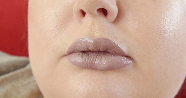 cool-toned nude liquid lipstick