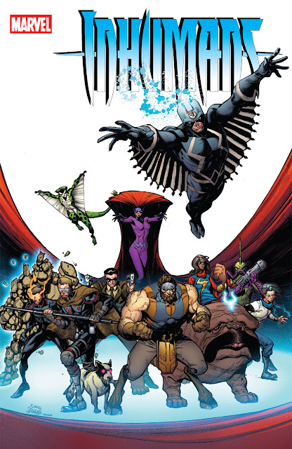 marvel comics inhumans