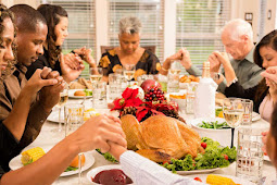 Examples of Christian Spiritual Mealtime Prayers with Family