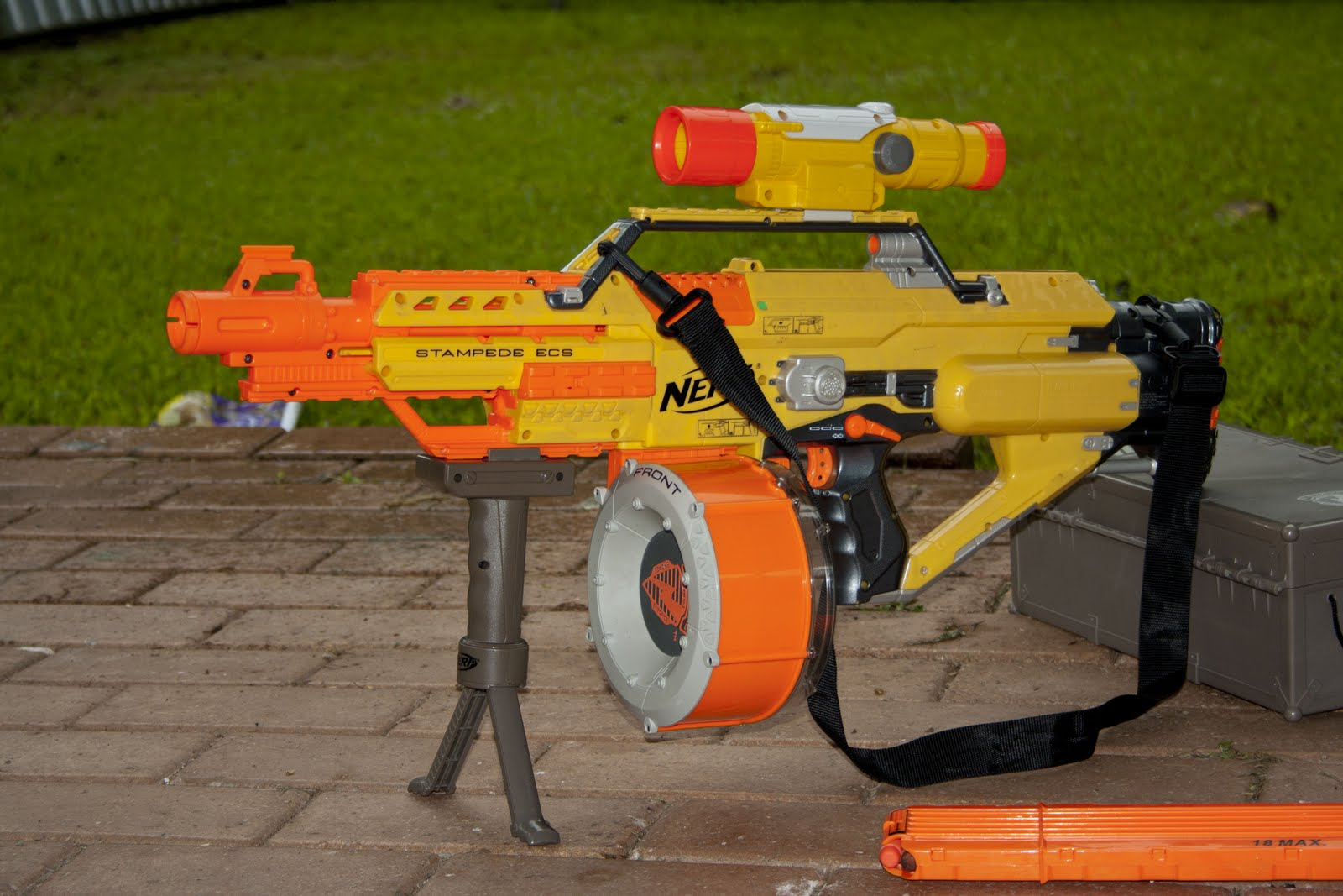 Street Tag Warfare Review Nerf Stampede Ecs