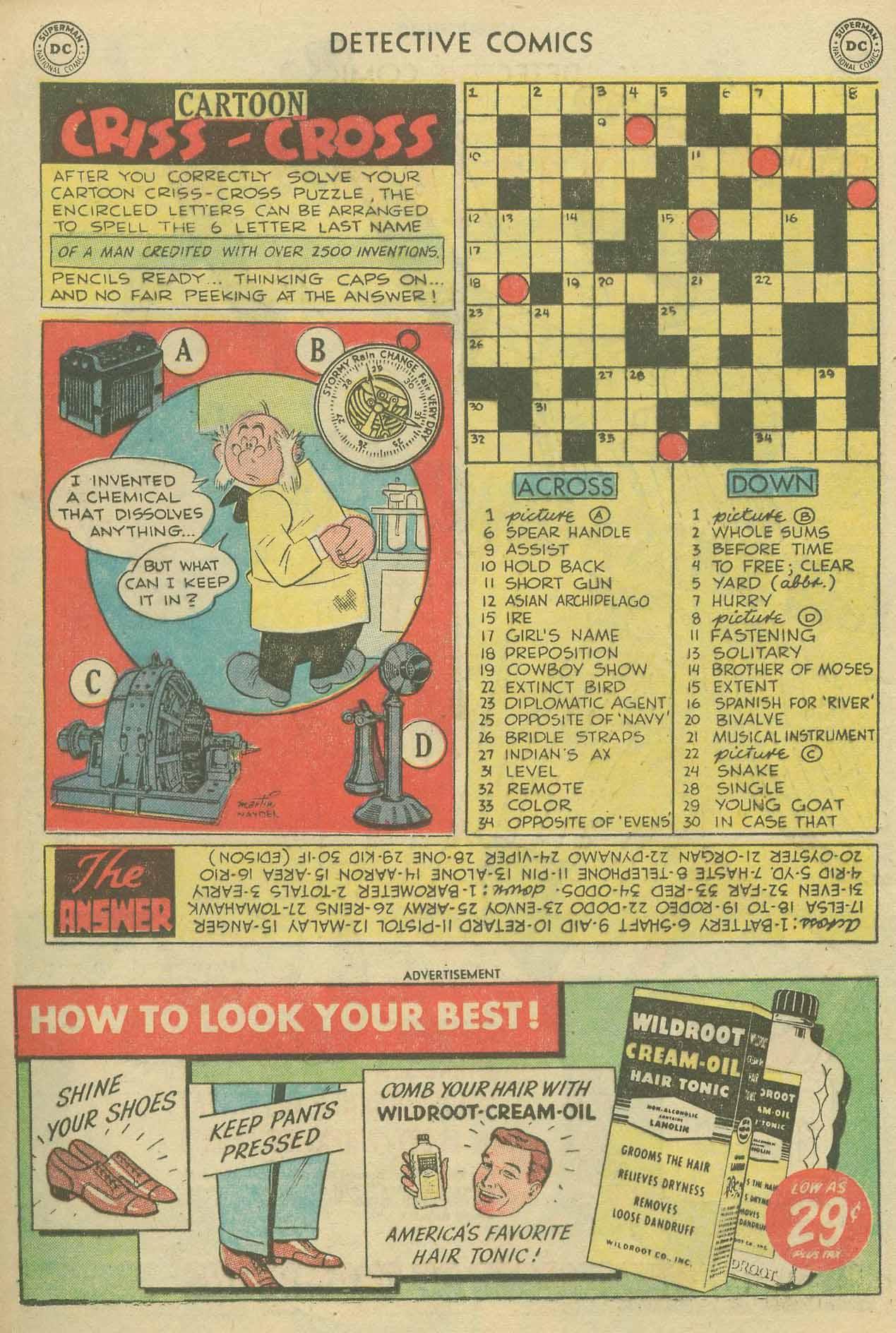 Detective Comics (1937) 175 Page 15