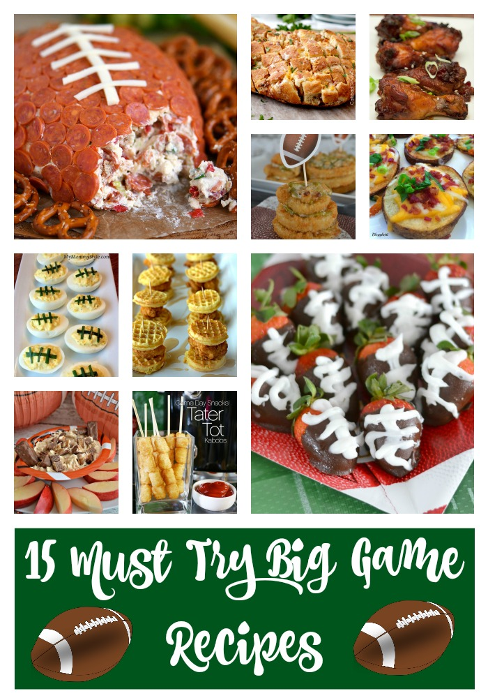 15 Must Have Baby Items Essential For Life With A Newborn: 15 Must Try Big Game Recipes